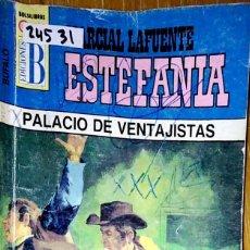 Libros: 24531 - NOVELAS DEL OESTE - ESTEFANIA - COLECCION BUFALO - PALACIO DE VENTAJISTAS - Nº 188. Lote 183696898