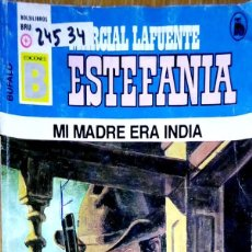 Libros: 24534 - NOVELAS DEL OESTE - ESTEFANIA - COLECCION BUFALO - MI MADRE ERA INDIA - Nº 29. Lote 183697407
