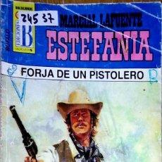Libros: 24537 - NOVELAS DEL OESTE - ESTEFANIA - COLECCION BUFALO - FORJA DE UN PISTOLERO - Nº 105. Lote 183698407