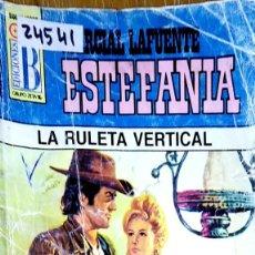 Libros: 24541 - NOVELAS DEL OESTE - ESTEFANIA - COLECCION BUFALO - LA RULETA VERTICAL - Nº 351. Lote 183758422