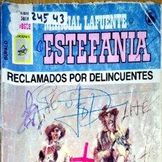 Libros: 24543 - NOVELAS DEL OESTE - ESTEFANIA - COLECCION BUFALO - RECLAMADOS POR DELINCUENTES - Nº 13. Lote 183758473