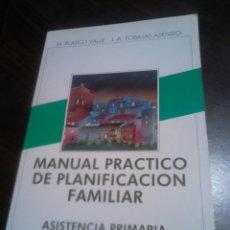 Libros: LIBRO AÑO 1984,MANUAL PRÁCTICO DE PLANIFICACIÓN FAMILIAR, ASISTENCIA PRIMARIA. Lote 183855602