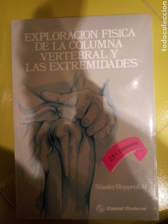Libros: Libro EXPLORACION FISICA DE LA COLUMNA VERTEBRAL Y LAS EXTREMIDADES. STANLEY HOPPENFELD. NUEVO - Foto 2 - 183863976