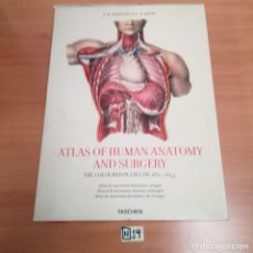Libros: ATLAS OF HUMAN ANATOMY AND SURGERY. Lote 184366102
