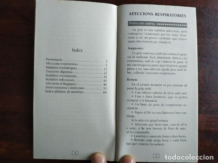 Libros: Remeis senzills per alleugerir grans molèsties, quadern nº 7 de la col·lecció El mes sa pràctic i na - Foto 3 - 186250090
