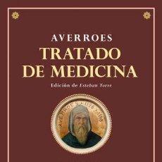Libros: AVERROES. TRATADO DE MEDICINA.. Lote 187643653