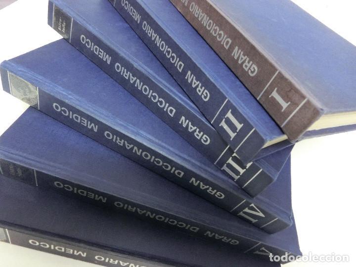 Libros: GRAN DICCIONARIO MEDICO - FRATELLI FABBRI EDITORI - PUBLICACIONES CONTROLADAS - 1974 6 TOMOS - Foto 5 - 191639780