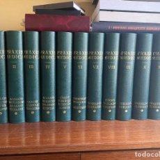 Libros: PRAXIS MEDICA ENCICLOPEDIA COMPLETA - SIMIL PIEL, 12 TOMOS - IDEAL DECORACION DESPACHO MEDICO. Lote 196338731