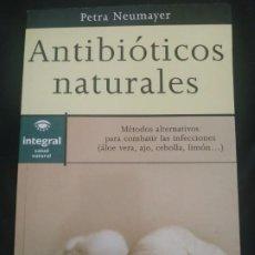 Livros: ANTIBIÓTICOS NATURALES. Lote 198781156