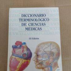 Libros: DICCIONARIO TERMINOLOGICO DE CIENCIAS MEDICAS - 13 EDICION MASSON. Lote 202031817