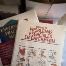 Libros: MANUAL DE PROBLEMAS ESENCIALES EN ENFERMERÍA - 1 TOMO Y 2 VHS. Lote 204619546