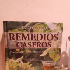 Libros: LEXICÓN DE LOS REMEDIOS CASEROS. Lote 206889295