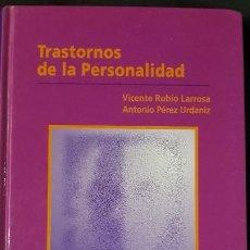 Libros: TRASTORNOS DE LA PERSONALIDAD - V.RUBIO LARROSA/ A.PÉREZ URDANIZ -ELSEVIER S.A. - AÑO 2003. Lote 207253270