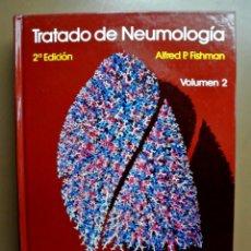 Libros: LIBRO TRATADO DE NEUMOLOGÍA , VOLUMEN 2 , ALFRED P. FISHMAN , DOYMA. Lote 207813580