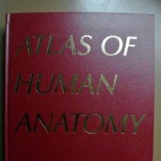 Libros: LIBRO ATLAS OF HUMAN ANATOMY , FRANK H. NETTER, M.D. CIBA-GEYGI. Lote 207817532
