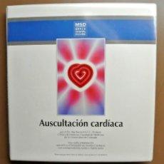 Libros: LIBRO Y 6 AUDIO CASETES AUSCULTACION CARDIACA , DR. ABE RAVIN, MSA. Lote 207819350