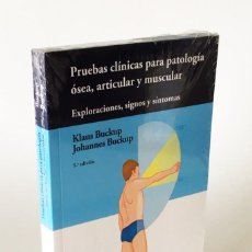 Libros: PRUEBAS CLÍNICAS PARA PATOLOGÍA ÓSEA, ARTICULAR Y MUSCULAR - EXPLORACIONES, SIGNOS Y SÍNTOMAS, NUEVO. Lote 210755966