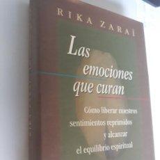 Libros: LAS EMOCIONES QUE CURAN RIKA ZARAI CIRCULO LECTORES 1998. Lote 212889400