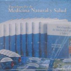 Libros: ENCICLOPEDIA DE MEDICINA NATURAL Y SALUD (10 VOLS. + 6 DVDS) NUEVO EN CAJA. Lote 213847257