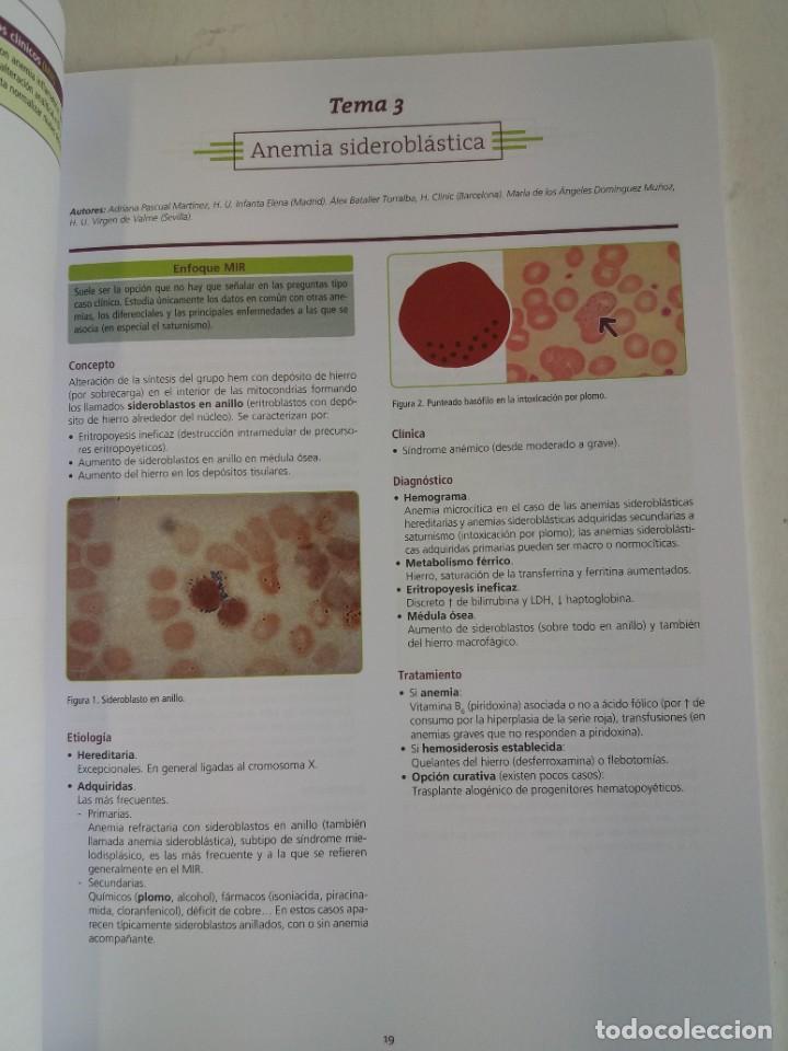 Libros: HEMATOLOGIA ESTUPENDO MANUAL COMPENDIO DE TODA LA HEMATOLOGIA NUEVO 2018 MIR - Foto 7 - 215271206
