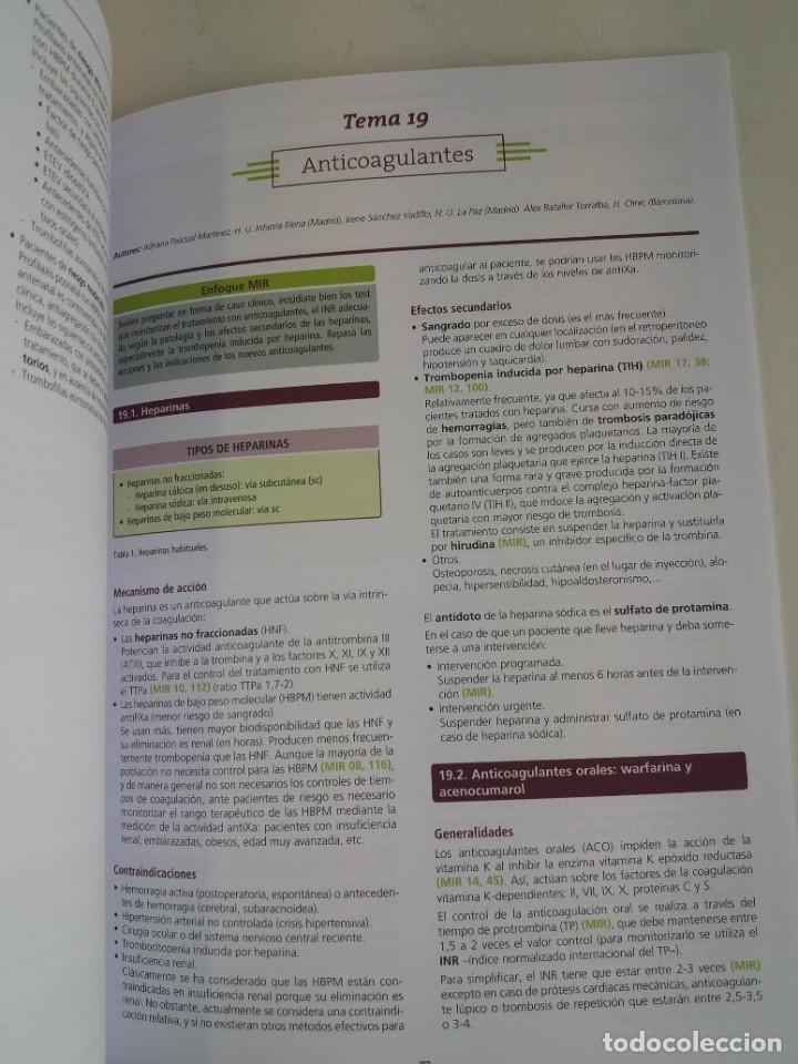 Libros: HEMATOLOGIA ESTUPENDO MANUAL COMPENDIO DE TODA LA HEMATOLOGIA NUEVO 2018 MIR - Foto 31 - 215271206
