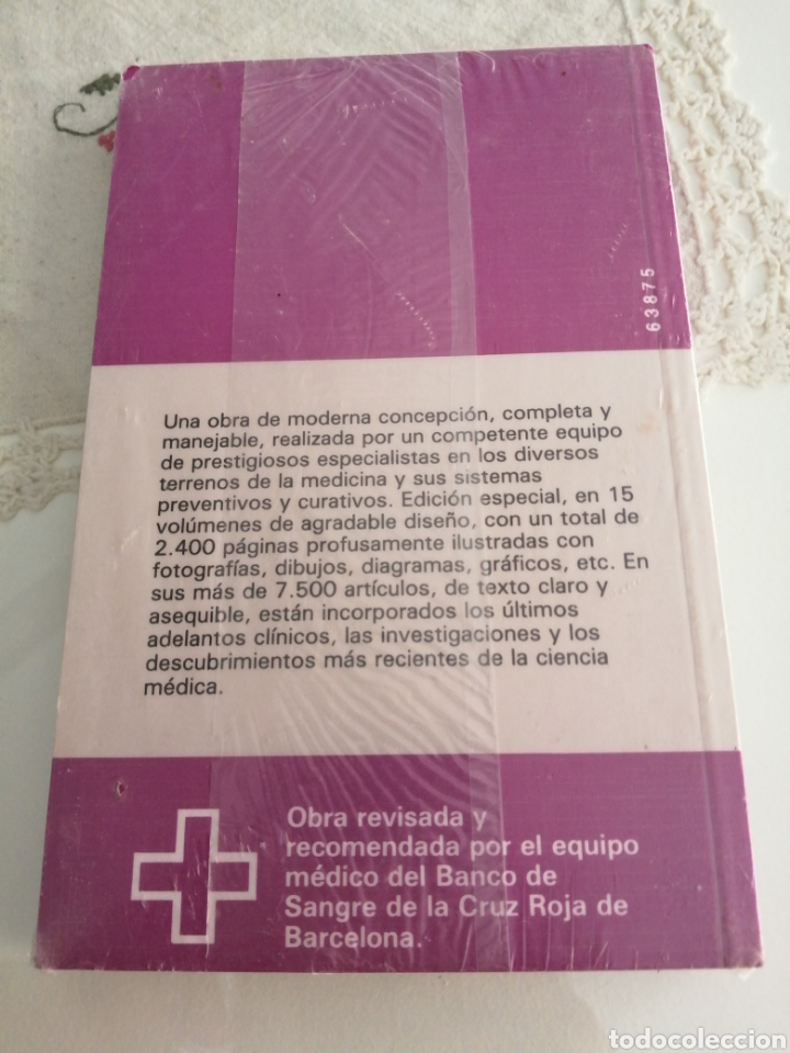 Libros: MEDICINA Y SALUD NÚMERO 6.-GUIA PRACTICA ILUSTRADA DE LA A a la Z. (NUEVO, PRESINTADO) - Foto 2 - 216553382
