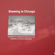 Libros: SNOWING IN CHICAGO. Lote 218995151