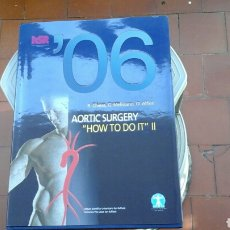 Libros: AORTIC SURGERY. Lote 218996101