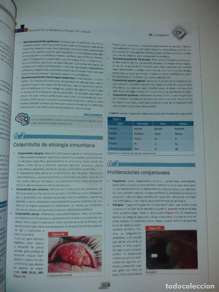 Libros: OFTALMOLOGIA ESTUPENDO MANUAL COMPENDIO DE TODA LA OFTALMOLOGIA NUEVO 2018 MIR - Foto 12 - 220432130