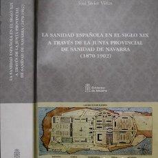 Libros: LA SANIDAD ESPAÑOLA EN EL S. XIX A TRAVÉS DE LA JUNTA PROV. DE SANIDAD DE NAVARRA (1870-1902). 2006.. Lote 222028166