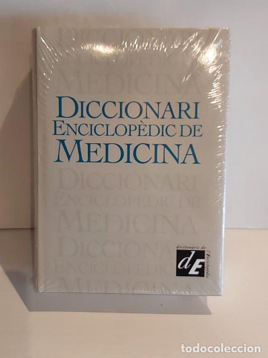 DICCIONARI ENCICLOPÈDIC DE MEDICINA / ED: ENCICLOPÈDIA CATALANA-2000 / PRECINTADO A ESTRENAR. (Libros Nuevos - Ciencias, Manuales y Oficios - Medicina, Farmacia y Salud)