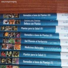Libros: ENCICLOPEDIA DE MEDICINA NATURAL Y SALUD 10 TOMOS Y 6 DVDS. Lote 229591755