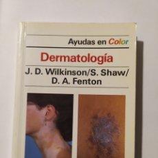 Libros: LIBRO DERMATOLOGÍA. Lote 232085385