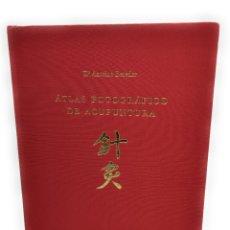 Libros: ATLAS FOTOGRÁFICO DE ACUPUNTURA. Lote 231296210