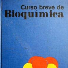 Livros: CURSO BREVE DE BIOQUIMICA. Lote 237760320