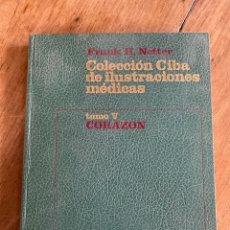Libros: TOMO V CORAZÓN/ COLECCIÓN CIBA DE ILUSTRACIONES MÉDICAS/ 1976. Lote 238738975