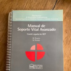 Libros: MANUAL DE SOPORTE VITAL AVANZADO/ COMITÉ ESPAÑOL DE RCP/ 1996. Lote 238740595