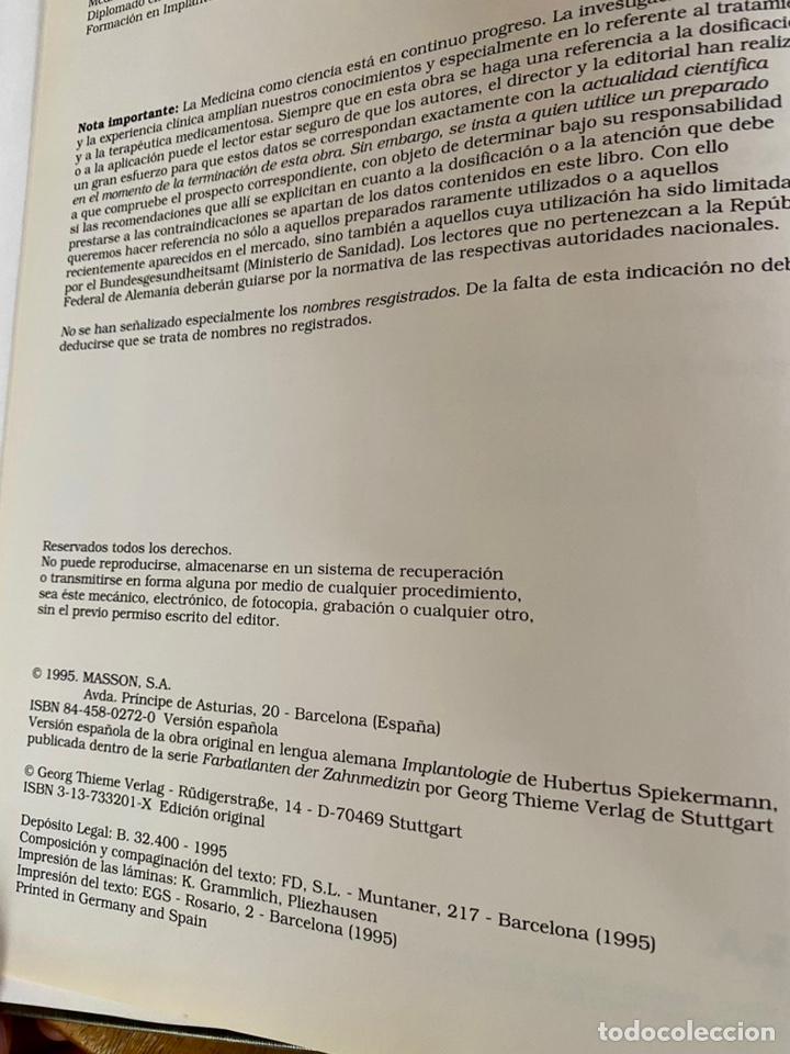 Libros: Atlas. De Implantología/ Hubertus Spiekermann - Foto 5 - 238746305