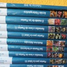 Libros: ENCICLOPEDIA DE MEDICINA NATURAL Y SALUD 10 TOMOS Y 6 DVDS. Lote 239909405