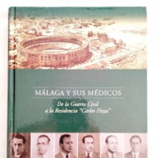 Libros: PRADOS: MÁLAGA Y SUS MÉDICOS - NUEVO. Lote 240069660