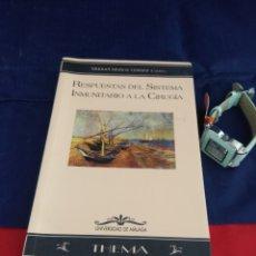 Libros: LIBRO RESPUESTA DEL SISTEMA INMUNITARIO. Lote 243553250