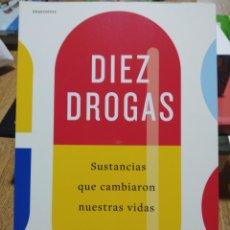 Libros: DIEZ DROGAS. THOMAS HAGER. CRÍTICA. LIBRO NUEVO. Lote 248835830