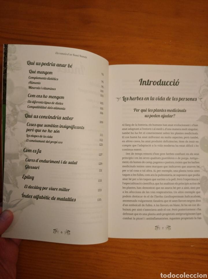 Libros: Els remeis den Rami Remeis. Consells de salut natural. Albert Rami. - Foto 3 - 252022695