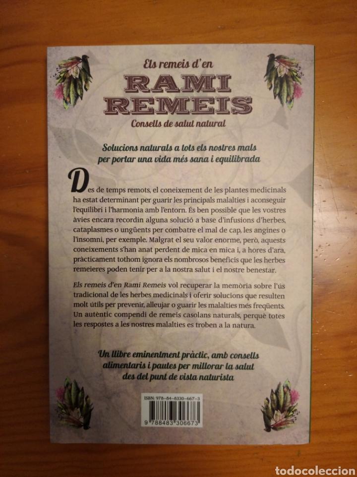 Libros: Els remeis den Rami Remeis. Consells de salut natural. Albert Rami. - Foto 4 - 252022695