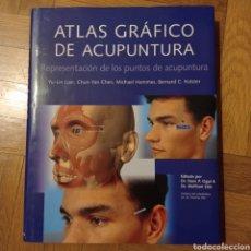 Livros: ATLAS GRÁFICO DE ACUPUNTURA. REPRESENTACIÓN DE LOS PUNTOS DE ACUPUNTURA. KÖNEMANN. Lote 257345745