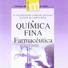 Libros: QUÍMICA FINA FARMACÉUTICA.. Lote 260103705