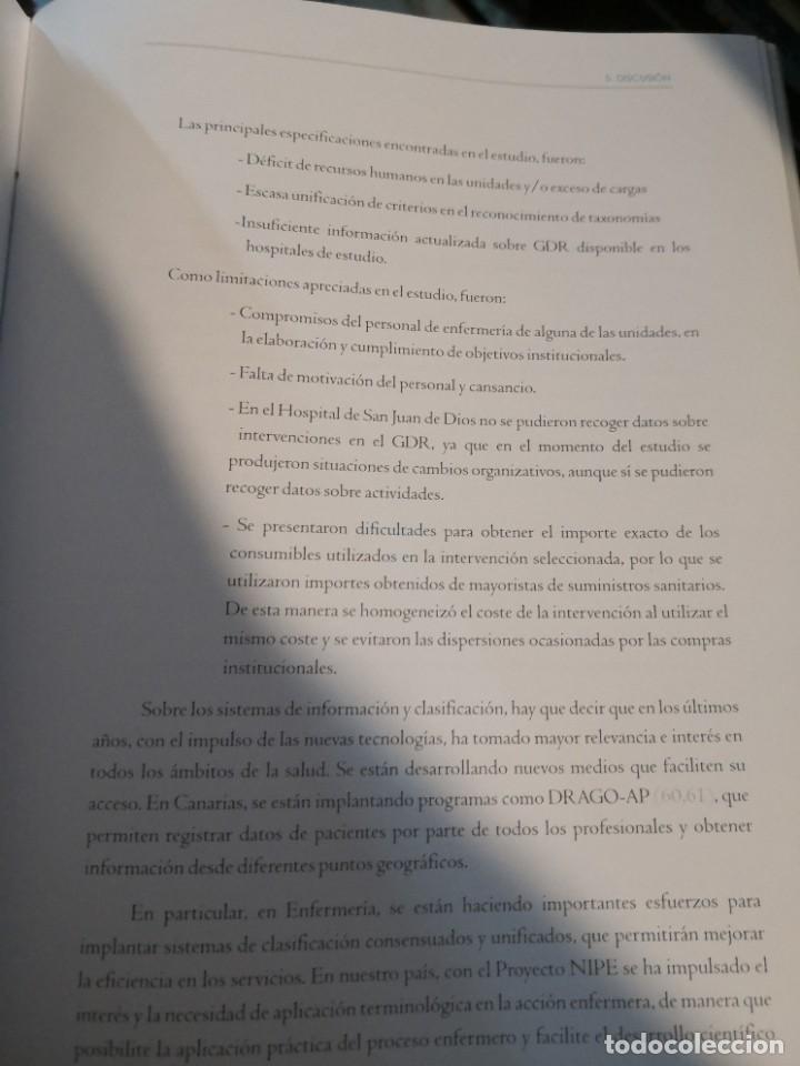 Libros: Gran libro tesis doctoral. UNIVERSIDAD DE LA LAGUNA AÑO 2008 FIRMADO DOCTOR ANTONIO SIERRA LOPEZ - Foto 7 - 263951340
