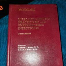 Libros: MANUAL MSD,UN PLANTEAMIENTO PRÁCTICO DE LAS ENFERMEDADES INFECCIOSAS,3°EDICIÓN, 1991. Lote 267526744
