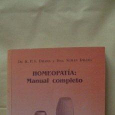 Libros: HOMEOPATIA MANUAL COMPLETO MANDALA EDICIONES. Lote 268273909