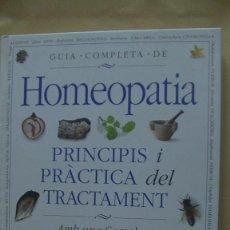 Libros: HOMEOPATIA GUIA COMPLETA LOCKIE, ANDREW. RAICES. Lote 268276524